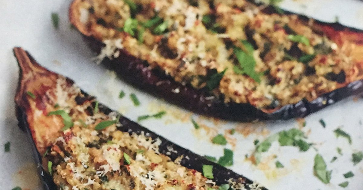 Spring Recipe: Baked Aubergine
